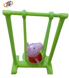 Mini promocionais Jogo de suínos de giro de plástico brinquedo para crianças