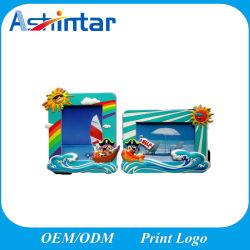 personalizado personalizada decoração Casa 3D Cartoon Animal PVC maleável foto Photo Frame