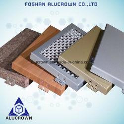 Venda a quente painel sólido de alumínio para Decoração de parede exterior
