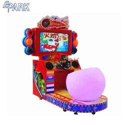 Epark interiores Super velocidad juego de carreras de coches Fire Car Simulator