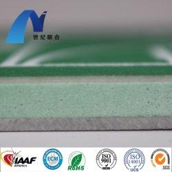 Camada elástica de PU silício profissional Tribunais Qt Superfície Desportivo Flooring Athletic Atletismo