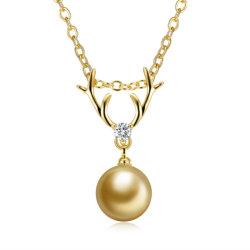 Имитация Hotsale Pearl женщин подвесная цепочка золотого цвета