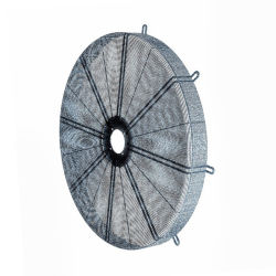 Revestimiento de polvo de malla de alambre soldado cubierta de ventilador de escape