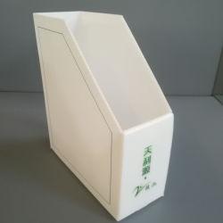 Corflute Twinwall de plástico hueco/PP Bandeja de documentos de archivos