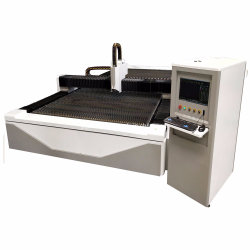 Preço razoável 1000W máquina de corte de fibra a laser de metal de alta velocidade