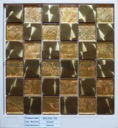 Het Mozaïek van het Glas van het Kristal van het Mozaïek van het Metaal van het Roestvrij staal van het Bouwmateriaal