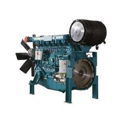 Новый 6 цилиндров с водяным охлаждением дизельного двигателя используется для дизельных генераторных установках с сертификат CE