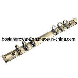 Anillo de metal cepillado Bronce Antoque mecanismo Binder