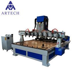 マルチスピンドル木製CNCのルーターの彫版機械