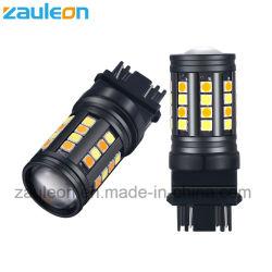 T25 3157 двухцветный светодиодный индикатор реверсирования для движения лампы сигнала поворота