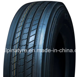 Linea retta camion radiale della gomma del filo di acciaio del reticolo 295/75r22.5 11r22.5
