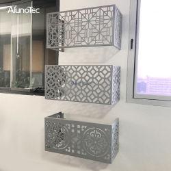 De unieke Dekking van de Airconditioner van het Ponsen van de Ventilatie van het Ontwerp
