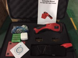Detector de líquido do reservatório de mão para serviço de inspeção de segurança e detecção de líquidos