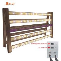 El mejor venta LM301h LM561c Full Spectrum Sunlike crecer la luz de LED blanco de 600W para el jardín interior