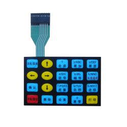Tastiera A Membrana Con Rivestimento In Gomma Pet O Silicone