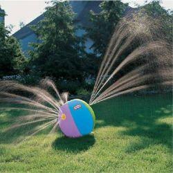 Im Freienswim-Spielzeug-Wasser-Sprühstrand Belüftung-aufblasbare Wasser-Kugel