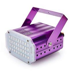 Simva Mini 36pcs KTV DJ lumière flash stroboscopique 5050 LED blanche Sound Control Disco Bar Feux de l'étape