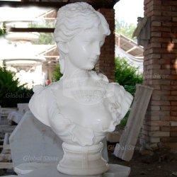 가정 훈장을%s 백색 대리석 흉상 조각품