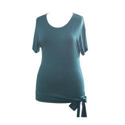 سيدات صلبة [رغلن سليف] قميص نمو إنحناء علبيّة مناسب لأنّ نساء مواد فاخرة