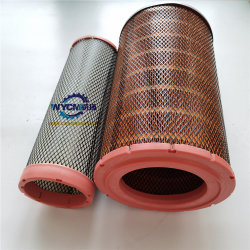 L958f carregadora de rodas 612600114993 Peças Weichai Filtro de Ar Kit para venda