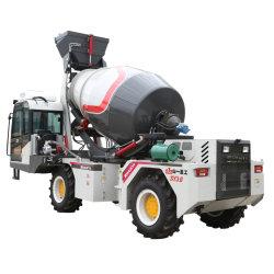 Carga automática Diesel mezcladora de cemento de Hormigón Móviles camión de la máquina con 4m3 Lote