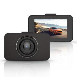 3.0インチソニー323の画像センサーのおやすみなさいの視野車DVRが付いている完全なHD 1080P車のダッシュのカメラ