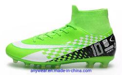 Malha elétrica Calçado Superior Futsal calçado de sola de borracha (177)