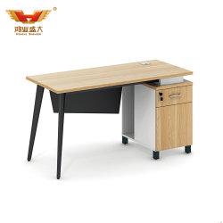 熱い昇進の契約の秘書のステンレス鋼の事務机(H85-0156)