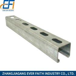 La Chine Factory Direct fournissent le canal de type C de l'acier galvanisé