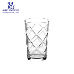 8oz는 지운다 상점 (GB026808)를 위한 유리제 아이스 큐브 디자인 음료수잔 컵을