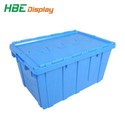 Транспортировка пластмассовые логистических брелоки ящики придает контейнер для крышки багажника