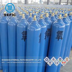 La norme ISO9809 47haute pression de l'oxygène bouteille de gaz argon