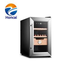 Nuevo comercial de 25L cigarro cigarro armario Vitrina con caja de puros
