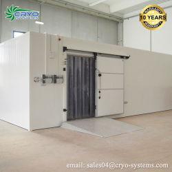 Assemblé profonde congélateur industrielle chambre froide pour le stockage de viande Poisson