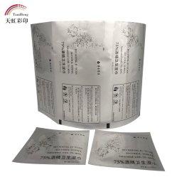 Aluminiumfolie-Material Using das Spiritus-Auflage-Verpacken