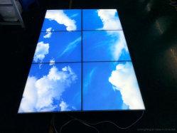 Ra>90 Bluesky/nuvens brancas sem caixilho clarabóia de LED do painel do teto para decoração