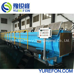 75-315mm Caixa de saída elevada do extrusor de tubo de PVC o tubo de plástico na linha de produção