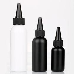 30 مل 60 مل 120 مل 120 مل غراء زجاجات بلاستيكية غراء بالسائل الأسود 150 مل رخيص قناني بلاستيكية لمولِّف الجل