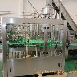 Frasco Pet totalmente automático de água mineral puro suco bebida energética engarrafamento enchendo a linha de produção