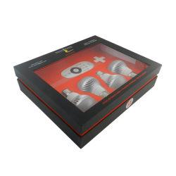 Пользовательские поля на упаковку проволоки с электронным управлением с окошком для светодиодного освещения