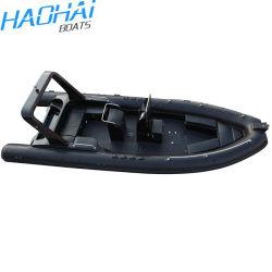 Marcação 25FT 7,6M barco inflável Barco de fibra de barco de luxo Desporto Lancha Barco Barco Barco Semi-Rigid rígida do barco de pesca Barco Hypalon Orca Iate barco militar