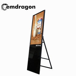 32 インチポータブル LCD デジタルサイネージ ODM 広告スクリーン LCD デジタルサイネージ品質インチキオスク CCTV LCD モニター広告メディア プレーヤー