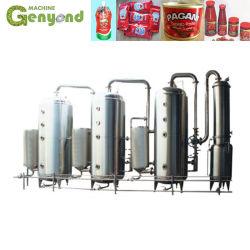 Tomate Evaporador Congestionamento de tomate para a linha de produção