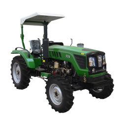 널리 이용되는 농장 트랙터 55HP 4WD 조밀한 트랙터 가격