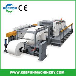 Servo Control couteau rotatif double rouleau de papier pour machine de découpe de feuille/haute vitesse bâches automatique de papier de la machine avec ce modèle (SM)