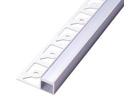 LEDの装飾およびコマーシャルの線形軽い壁の照明のための屈曲のストリップとのカスタマイズされたPMMAのパソコンの高品質のアルミニウムプロフィール