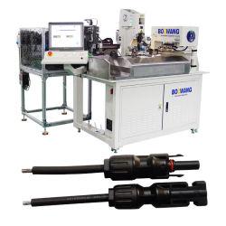 Bzw-3.0+GF+N Fulll-Automatic PV провод разъема кабеля вставка, Момент затяжки гайки крепления и провод отрезан, Газа, обжимной станок