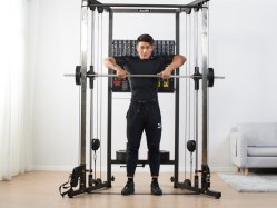 Sistema di cavi crossover multifunzione per palestra e casa, Smith Machine Attrezzature per il fitness Strength A101