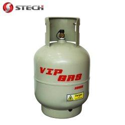Der China-Stech Marken-23.5L Gas-Zylinder-Testgerät Wasser-Kapazitäts-des Speicher-10kg LPG in Afrika für Gaststätte