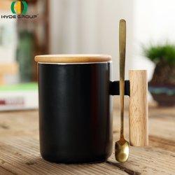 Caneca de porcelana China fábrica de Cerâmica Adesivo Florestais café xícara de chá (HDP-4510)